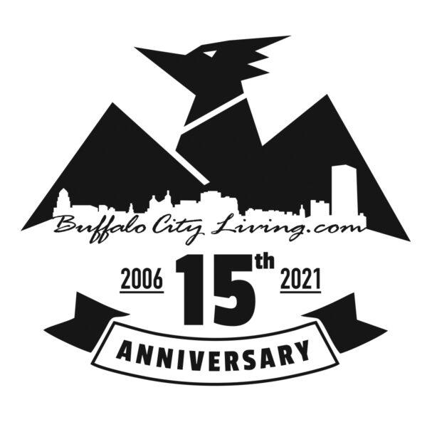 Buffalo City Living 15th Anniversary Emblem